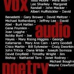 VOX Audio Poetry by Bruce Holsapple