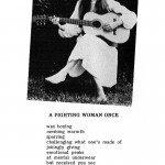 Fighting Woman Copyright (C) 1986, Belinda Subraman
