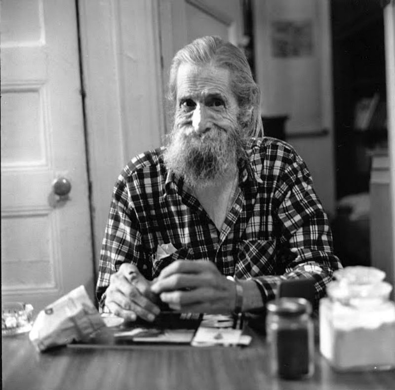 Ray Bremser (c) Photo by Allen Ginsberg