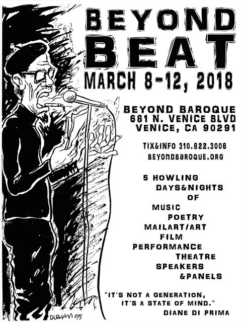 Beyond Beat Banner... art by Elaine Parks