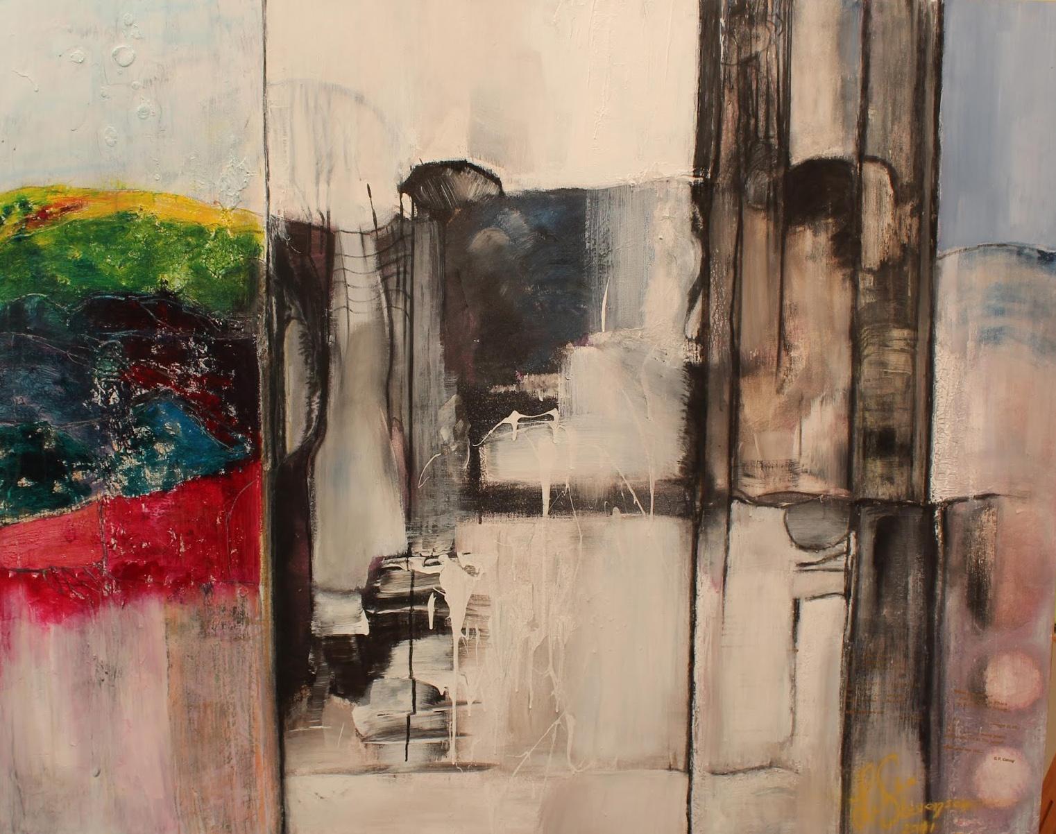 Ithaca - Painting by Linda Stevenson