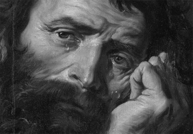 Heraclitus - Painting by Abraham Janssens