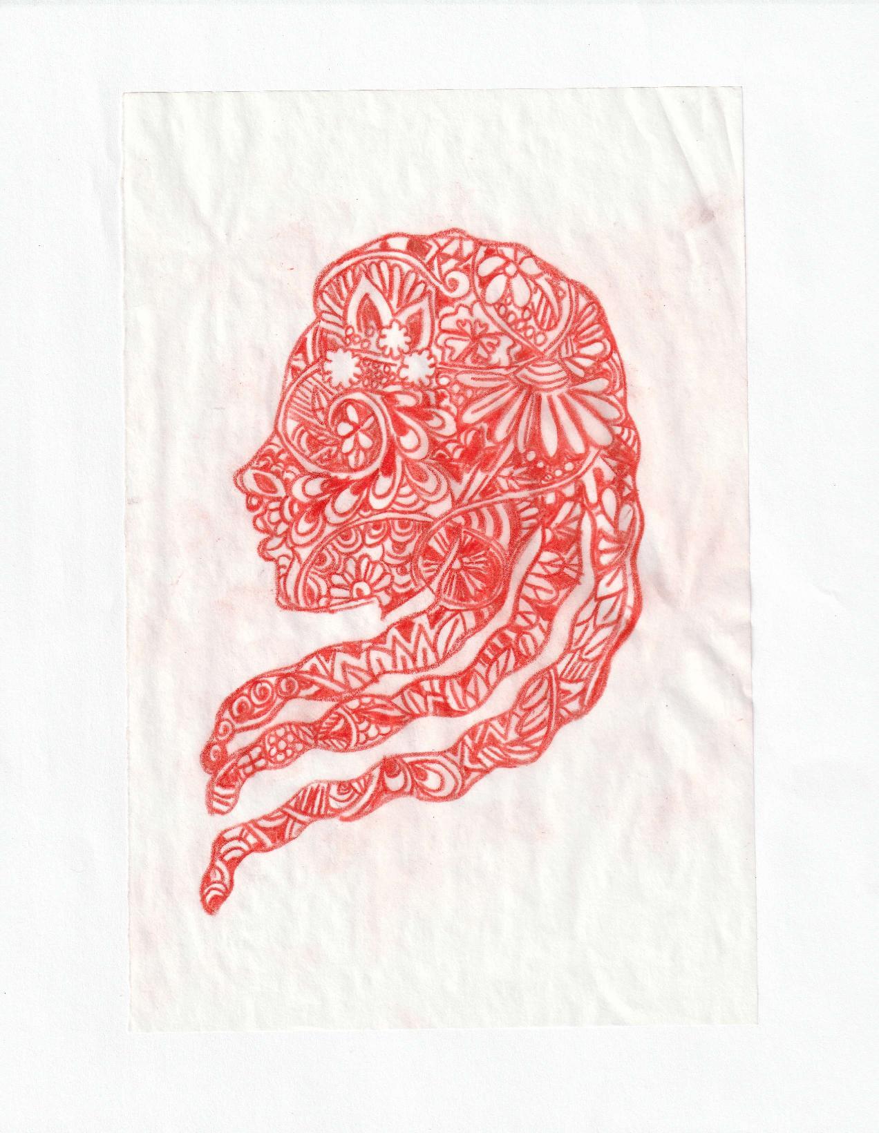 "Illustration: ""Muse"" - Patricia Calloway, Artist"